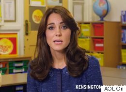 Kate Releases Message In Support Of Kids' Mental Health