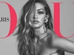 Gigi Hadid Wears 'Mostly Chanel No.5' In Naked Vogue Cover Shoot