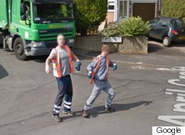 Dancing Bin Men Who Photobombed Google Street View Win Unusual Praise