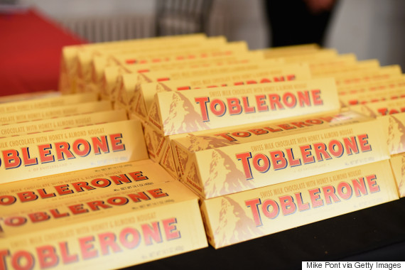 how to properly break a toblerone