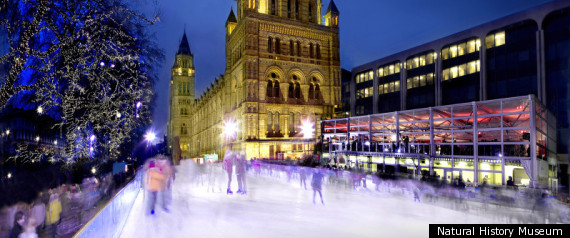 THE BEST ICE SKATING RINKS THIS CHRISTMAS
