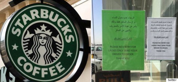 There's No Defending Saudi Arabia After a Starbucks Temporarily Banned Women