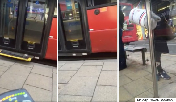 bus stop blunder