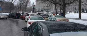 MANIFESTATION TAXIS QUEBEC