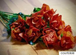 Saint-Valentin: Surprenez-le avec une douzaine de roses en Doritos