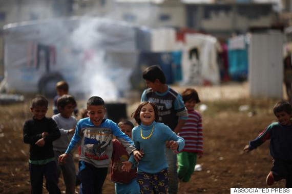 syria child refugee