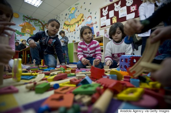 syria school child