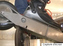 Déplacez-vous à près de 100 km/h avec ces patins à roulettes