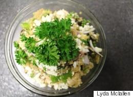 Healthy Mediterranean Quinoa Salad Recipe