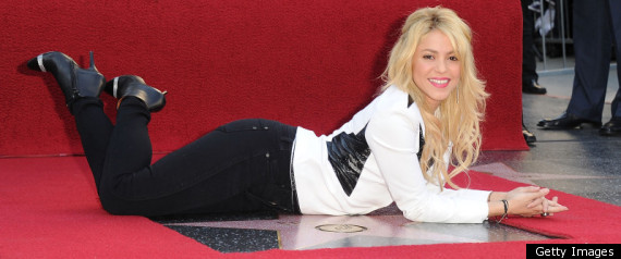 Shakira Hollywood Star