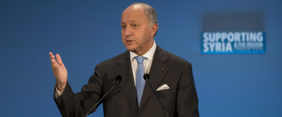 FRENCH FOREIGN MINISTER