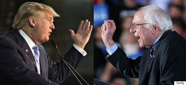 How Rising Trump and Sanders Parallel Rising Populism in Europe