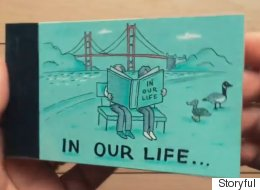 Unique Proposal Idea: Illustrate A Flipbook Of Your Life Together, But In Reverse