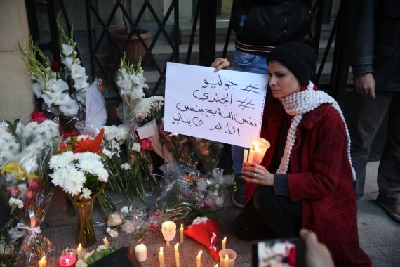 italian embassy cairo giulio regeni death