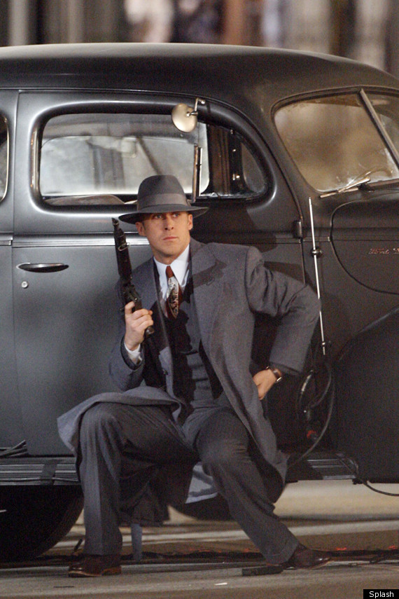 Ryan Gosling On Gangster Squad Set Gun Troubles And Air