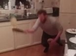 We Can't Stop Watching This Guy's Insane Pancake Flipping Technique