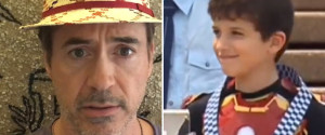ENFANT AUSTRALIEN IRON MAN TONY STARK