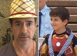 Tony Stark a exaucé le rêve de cet enfant malade (VIDÉO)