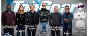 TOP GEAR LINE UP MEME JOKE
