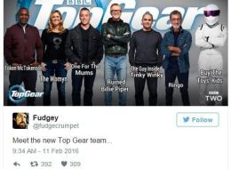Twitter Is Having Some Fun With The New 'Top Gear' Line-Up