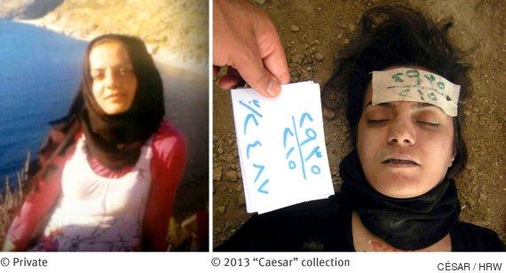 presos siria