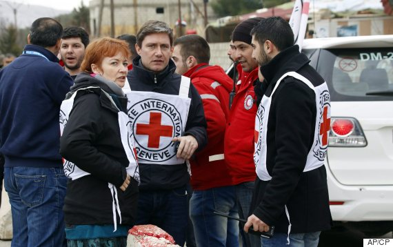 syria aid red cross madaya