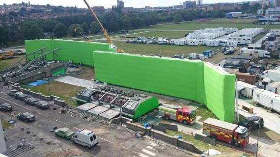 aircover inflatable green screen
