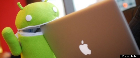GOOGLE ANDROID APPLE