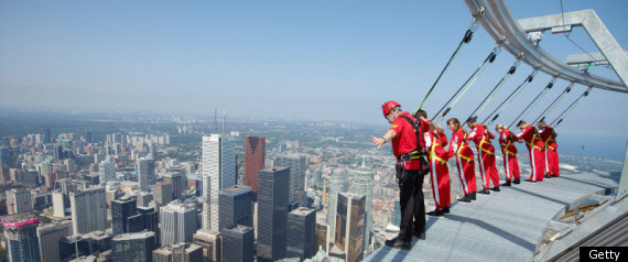 Cn Tower Edgewalk Guinness World Record