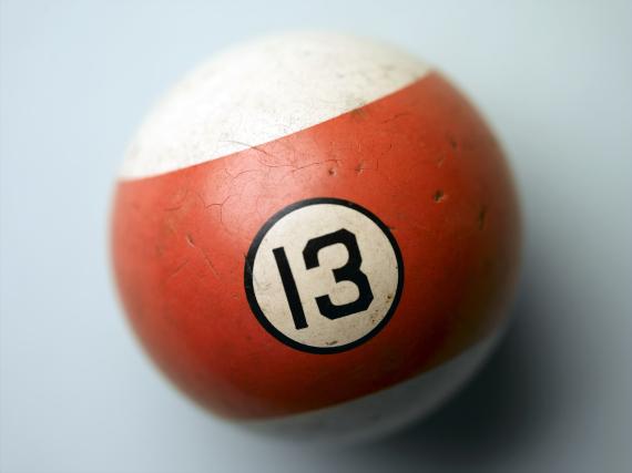 number 13