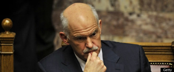 George Papandreou Resigination