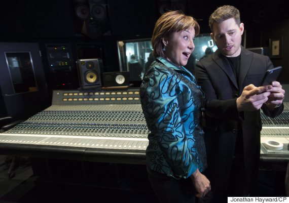 christy clark michael buble