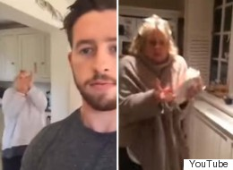 This Guy Likes To Throw Raw Eggs At His Mum And Her Reaction Is Always Priceless