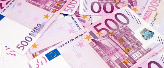 500 EUROS BILLETS