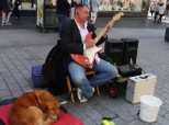 Strangers Donate £3,000 To Blind Busker Whose Equipment Was Stolen