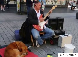 Blind Guitarist Targeted By Thieves Thanks Strangers Who Raised £3,000 To Buy Him New Kit