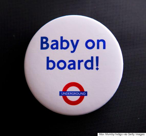 london underground baby