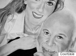 Portraits du couple Dion-Angélil en vente pour aider les enfants malades