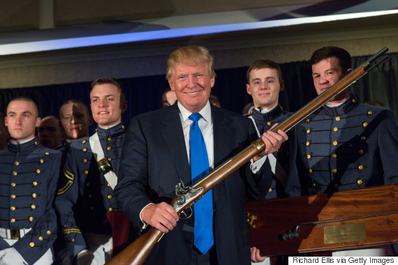 flintlock rifle trump
