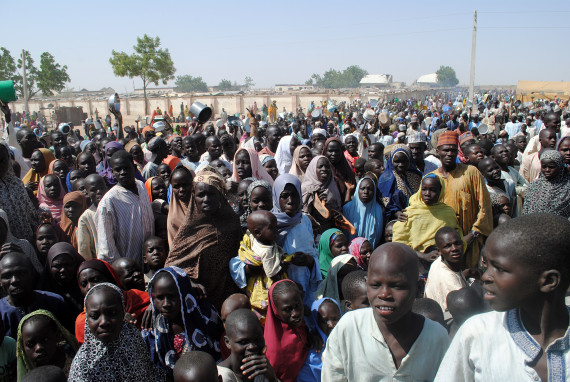 dikwa refugee camp nigeria