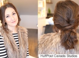 How To Get A Romantic Ponytail For Your Valentine's Day Date