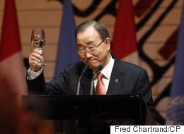 UN Secretary General Lauds Canada's Response To Refugee Crisis