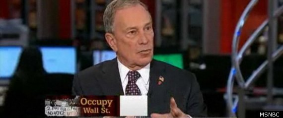 Bloomberg Occupy Wall Street