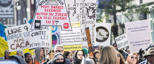 Energy East Protest Quebec