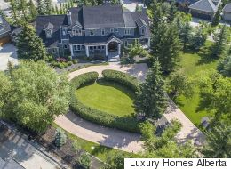 Over-The-Top Alberta Mansions For Sale