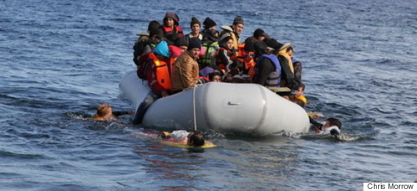 My Experience With Syrian Refugees Landing in Lesbos, Greece