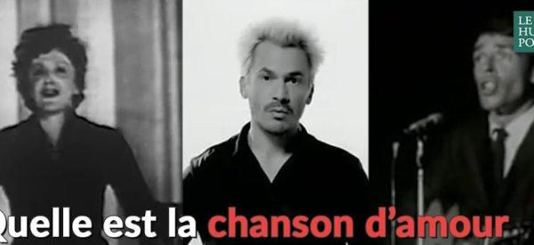 La chanson d'amour préférée des Français est...