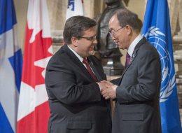 Ban Ki-moon Praises Montreal's Anti-Radicalization Efforts
