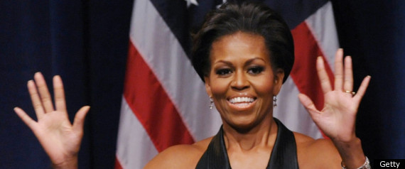 MICHELLE OBAMA MILITARY FAMILIES