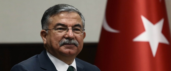 TURKISH DEFENCE MINISTER ISMET YILMAZ